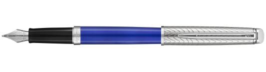 Перьевая ручка Waterman Hemisphere Deluxe Blue Wave CT F 2043217