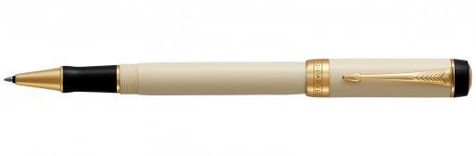 Ручка-роллер Parker Duofold T74 черный F 1931395 ручка роллер parker duofold t74 black gt чернила черные корпус черный s0690470