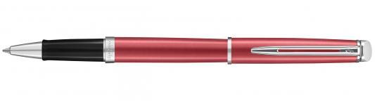 Ручка-роллер Waterman Hemisphere Coral Pink CT черный F 2043206 ручка шариковая waterman hemisphere s0920670 mars