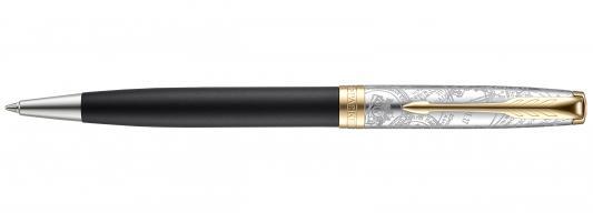 Шариковая ручка поворотная Parker Sonnet SE18 K541 Matte Black GT черный M 2054837 parker шариковая ручка parker s0808170