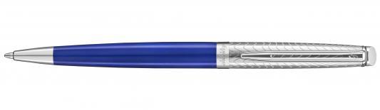 Шариковая ручка поворотная Waterman Hemisphere Deluxe Blue Wave CT синий M 2043218