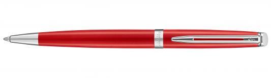 Шариковая ручка поворотная Waterman Hemisphere Red Comet CT синий M 2046601 ручка шариковая waterman hemisphere s0920670 mars