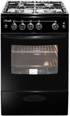 Плита Газовая Лысьва ГП 400 МС-2у черный (без крышки) газовая плита лысьва 401 м2с 2у без крышки белая