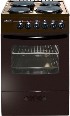 Плита Электрическая Лысьва ЭП 402 МС коричневый эмаль (без крышки) электрическая плита лысьва эп 301 wh