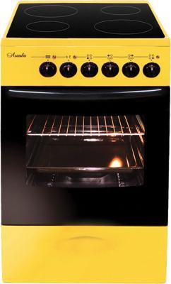 Электрическая плита Лысьва ЭПС 402 МС желтый электрическая плита лысьва эп 301 wh
