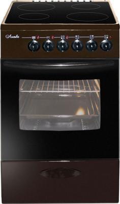 Плита Электрическая Лысьва ЭПС 402 МС коричневый стеклокерамика электроплита лысьва эпс 411 мс чёрная