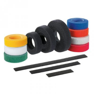 Стяжка Velcro Panduit HLS-15R0 4572x19.1мм нейлон/полиэтилен внутри помещений до +85 черный original airtac compact slide cylinder roller bearing hls series hls12x40sbs