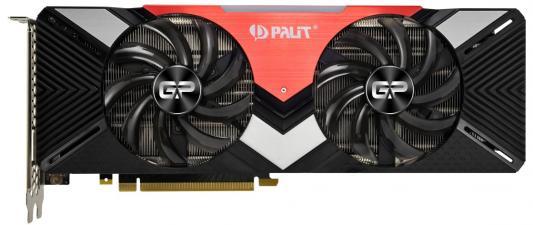 Видеокарта Palit nVidia GeForce RTX 2080 Dual PCI-E 8192Mb GDDR6 256 Bit Retail (NE62080020P2-180A)