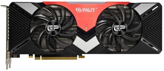 Видеокарта Palit nVidia GeForce RTX 2080 GamingPro PCI-E 8192Mb GDDR6 256 Bit Retail (NE62080T20P2-180A)