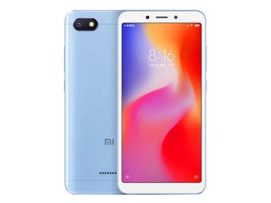 Смартфон Xiaomi Redmi 6A 16 Гб голубой смартфон