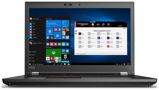 Ноутбук Lenovo ThinkPad P72 (20MB0003RT) ноутбук lenovo thinkpad e480 20kn0075rt
