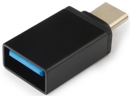 Переходник USB 2.0 Type-C Cablexpert A-USB2-CMAF-01 черный аксессуар gembird usb 2 1 type c m usb 3 1 type c f a usb2 cmaf 01