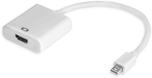 Адаптер miniDisplayPort HDMI 0.2м Green Connection 33-050546 круглый белый