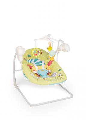 Электрокачели Happy Baby Jolly V2 (green) happy baby happy baby развивающая игрушка руль rudder со светом и звуком