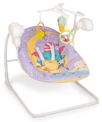 Электрокачели Happy Baby Jolly V2 (violet) подвеска happy baby jolly garden