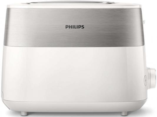 Тостер Philips/ 830 Вт, 8 настроек, 2, белый колонки philips spa20 51 2 0 7вт