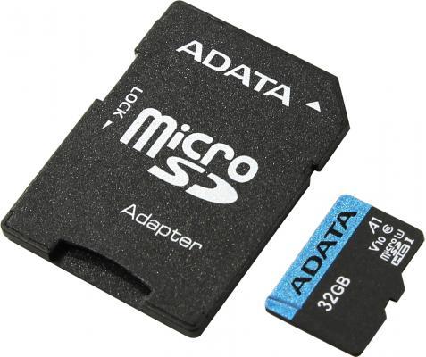 Фото - Карта памяти 32GBи Premier A1 MicroSDHC UHS-I Class 10 ADATA 90/25 MB/s с адаптером a data карта памяти 16gb premier a1 microsdhc uhs i class 10 adata 90 25 mb s с адаптером