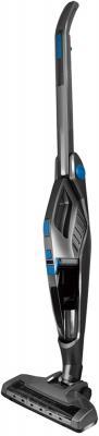 Вертикальный пылесос GINZZU VS415 сухая уборка серый синий