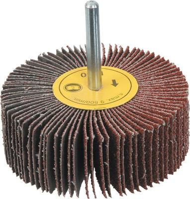 Круг Лепестковый Торцевой (КЛТ) VERTO 63H706 с хвостовиком 40x20мм k80 бур verto 60h628