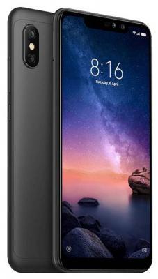 Смартфон Xiaomi Redmi Note 6 Pro 64 Гб черный (X20337) смартфон xiaomi redmi 5 plus 64 гб черный