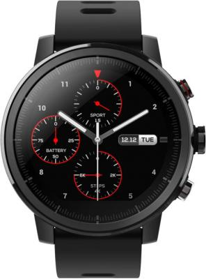 Умные часы Xiaomi Amazfit Stratos Black (6970100371253) умные часы xiaomi amazfit watch band black pace smartwatch black