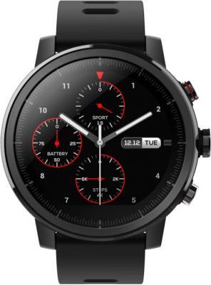 Умные часы Xiaomi Amazfit Stratos Black (6970100371253) умные часы carcam к88н black