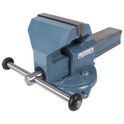 Тиски ГЛАЗОВ 18667 слесарные 140мм поворотные поворотные слесарные тиски wilton механик 746 wi21500