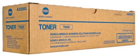 Тонер Konica-Minolta bizhub 36 TN-320 (o)