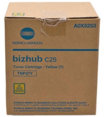 Тонер Konica-Minolta bizhub C25 желтый TNP-27Y
