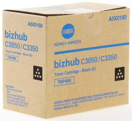 Тонер Konica-Minolta bizhub C3350/C3850 черный TNP-48K