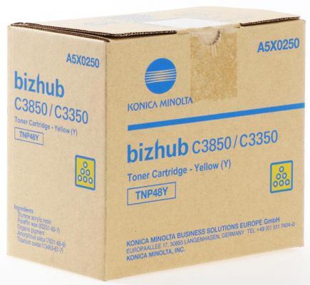 Тонер Konica-Minolta bizhub C3350/C3850 желтый TNP-48Y