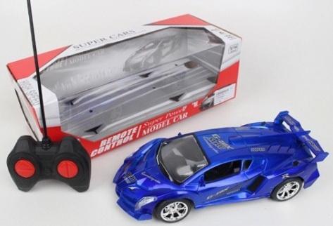 Купить Машина р/у со светом, цвет в ассорт. 688-142 в кор. в кор.2*18шт, Shantou, Радиоуправляемые игрушки