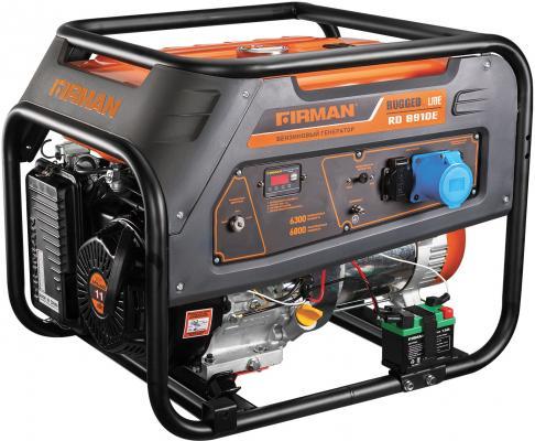 Бензиновый генератор FIRMAN RD8910Е 6,8кВт 25л 12В электростартер генератор ударник убг 7000 эс 5 5ква 25л 3000об мин