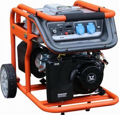 Генератор бензиновый Zongshen KB 6000 E 220 В, кВт 5 бензиновый генератор тсс sgg 6000 eh3
