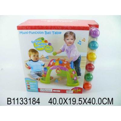 Игровой центр на бат. свет+звук, с шариками 63510 в кор. в кор.2*2шт
