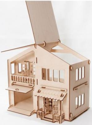 """Конструктор Мебель для кукол """"Дом с гаражом"""" цены онлайн"""