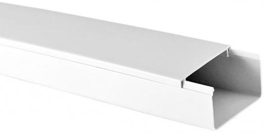 Кабель-канал TDM SQ0402-0010 40х40 белый розетка tdm sq1801 0021 tф rj 11 открытой установки ip20 белая ладога tdm