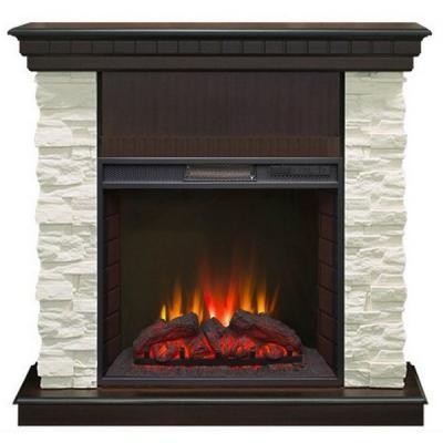 Электрокамин REAL FLAME Elford STD AO 1.5кВт 101х108х40см декор ду регулировка яркости real flame elford fobos