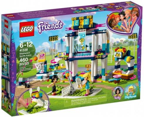 Конструктор LEGO Спортивная арена для Стефани 460 элементов конструктор lego спортивная арена для стефани lego friends 41338