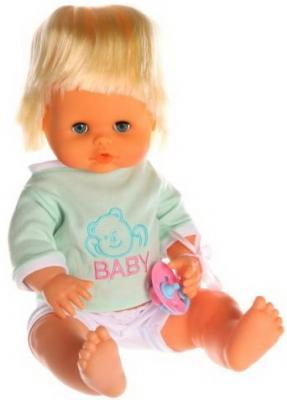Пупс Наша Игрушка Baby Toby 36 см писающая пьющая говорящая