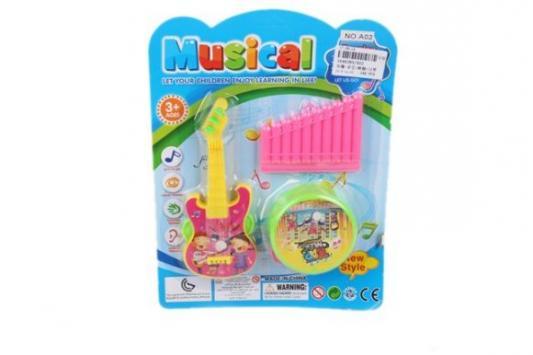 Набор музыкальных инструментов Наша Игрушка A02 игрушка