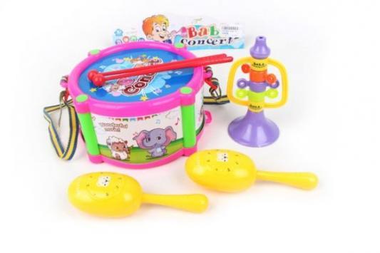 Набор музыкальных инструментов Наша Игрушка Концерт 3366-37 набор музыкальных инструментов наша игрушка