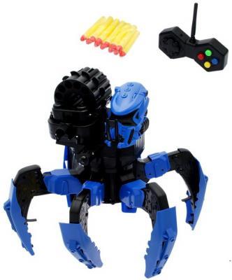 Робот радиоуправляемый Наша Игрушка Галактический паук стреляющий радиоуправляемый робот паук keye toys space warrior с дисками и лазерным прицелом 2 4g
