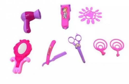 Набор парикмахера Наша Игрушка Набор парикмахера с феном 8 предметов