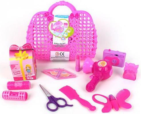 Игровой набор Наша Игрушка Сумочка стилиста 11 предметов игровой набор наша игрушка сумочка стилиста 11 предметов