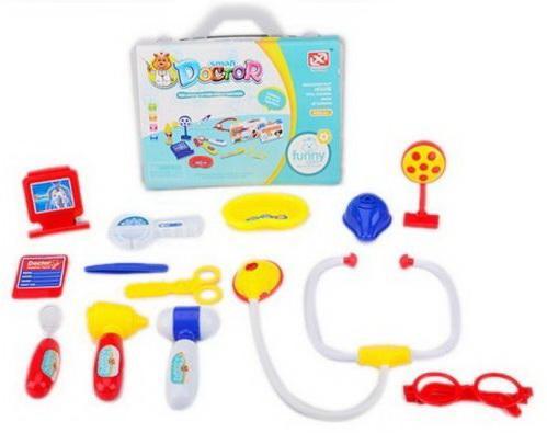 Купить Игровой набор Наша Игрушка BearDoctor 13 предметов, унисекс, Игровые наборы Доктор