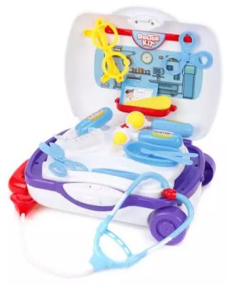 Набор доктора Наша Игрушка Набор маленького доктора в чемоданчике 19 предметов игрушка mehano 1 f101 набор рельс