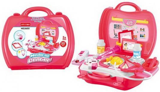 Купить Медицинский центр в чемод., предм., Наша Игрушка, унисекс, Игровые наборы Доктор