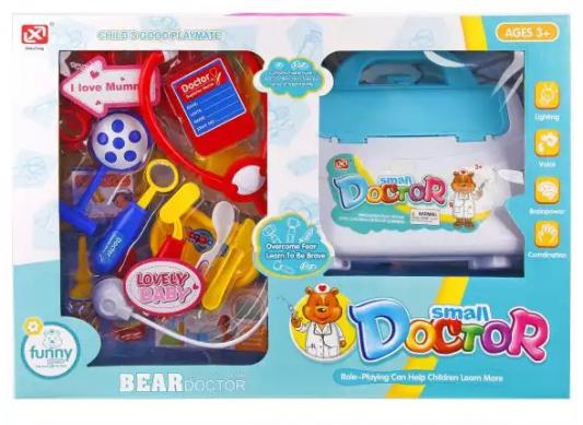 Набор доктора Наша Игрушка Медвежонок-доктор 17 предметов набор медвежонок доктор предм
