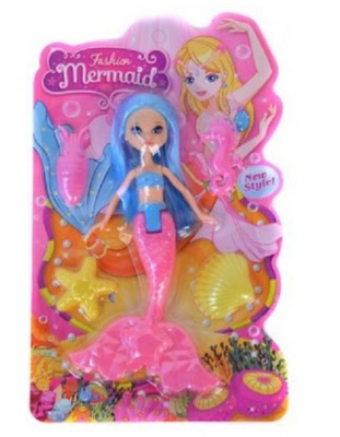 Фото - Кукла Наша Игрушка Русалка 27 см кукла наша игрушка кукла русалка 38 см светящаяся поющая
